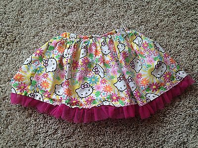 Cute!!! HELLO KITTY PINK SKIRT SIZE 24 Months -Fast Free Shipping!