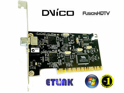 Brand new DViCo FusionHDTV DVB-T Dual Digital 4 - PCI TV Tuner Card