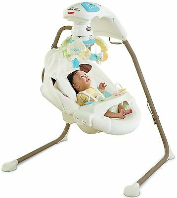 Fisher-Price Cradle 'n Swing with AC Adapter, My Little Lamb Brand New!
