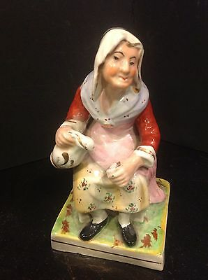 Continental Porcelain Seated Woman