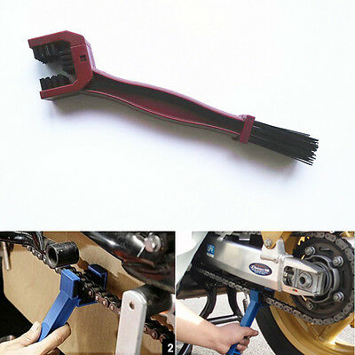 Chain Gear Cycle Brake Dirt Remover Scrubber Cleaning Brush Tool For Aprilia