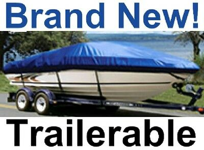 NEW 17'-19' TAYLOR MADE BOAT GUARD PLUS COVER,V-HULL RUNABOUT SKI,TRAILERABLE