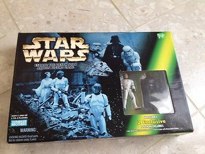 Star Wars Escape The Death Star Action Figure Game New In Box