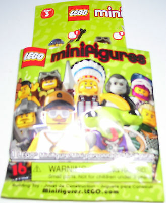 LEGO Minifigure Series 3 8803 COLLECTABLE - New #13 Space Alien