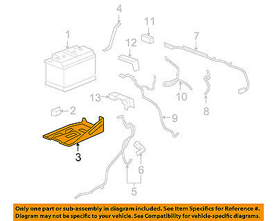 GM OEM-Battery Tray Right 15872637