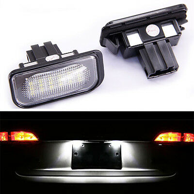 Feux Arriere Eclairage Plaque Immatriculation Led Blanc Xenon Chrysler Crossfire