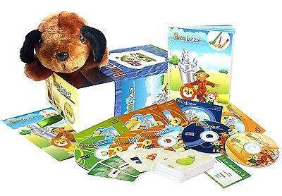 English for Kids: PetraLingua Language Course for Children with DVD, CD, Book