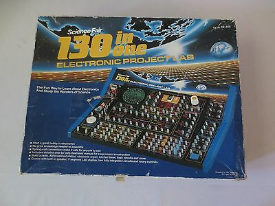 Science Fair 130 in 1 Electronic Project Kit by Tandy