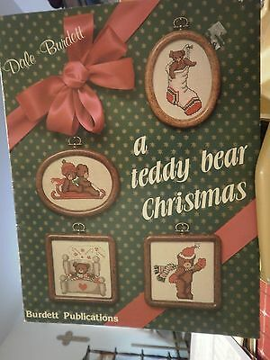 4 CHRISTMAS THEME COUNTED CROSS STITCH LEAFLETS/CHARTS SEE LIST