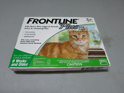 Merial Frontline Plus Flea and Tick Control for Cats and Kittens