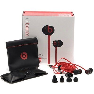 urbeats beats by dr. dre in-ear headphones - Black & Red 810-00055