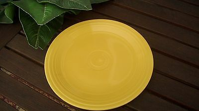 "VINTAGE FIESTA 9 1/2"" YELLOW DINNER PLATE"