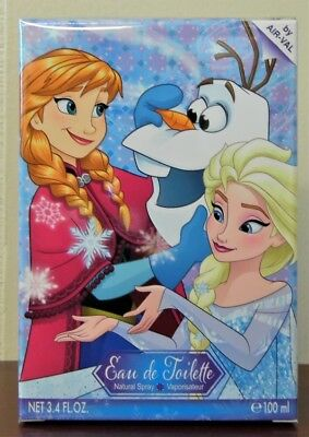 Frozen From The Movie Disney  3.4 Oz / 100 Ml Kids Girls Children Spray Sealed