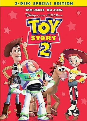 Toy Story 2 (DVD, 2005, 2-Disc Set, Special Edition) Fast Shipping...