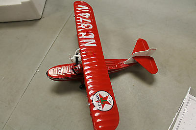 """Wings Of Texaco """"The Duck"""" 1936 Keystone-Loening Commuter Toy Airplane Bank #8"""
