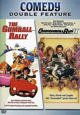 The Gumball Rally/The Cannonball Run II (DVD, 2006)Reynolds, Busey, Martin