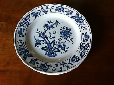 Sears Ironstone BLUE BONNET 4270 Salad / Dessert Plate Harmony House Japan