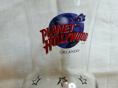 Planet Hollywood Orlando cocktail glass