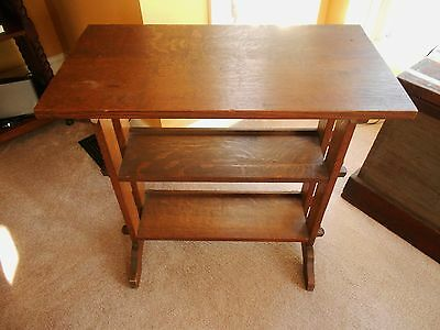 Mission Arts and Crafts Little Journeys Book Stand/Table by Roycroft