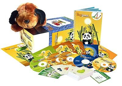 Chinese for Kids: PetraLingua Language Course for Children with DVD, CD, Book