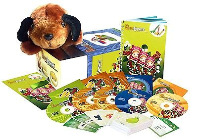 Russian for Kids: PetraLingua Language Course for Children with DVD, CD, Book