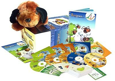 Spanish for Kids: PetraLingua Language Course for Children with DVD, CD, Book