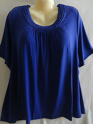 NEW Purple Career Casual Top Maggie Barnes Catherines  2X 3X 5X 22-36W Plus Size