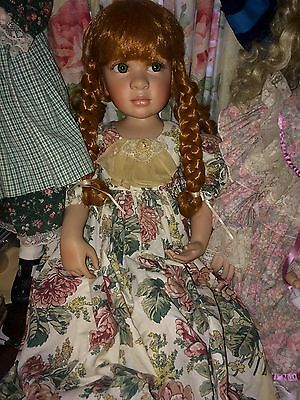 PAMELA ERFF PORCELAIN DOLL Price And Shipping Reduced.