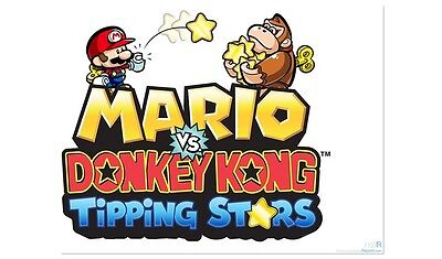 Mario vs Donkey Kong Tipping Stars 3DS Digital Download Code - Complete Game