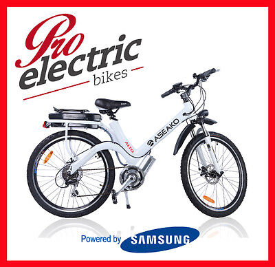 Aseako Alto 250W Electric Bike - Mid Drive Great For Hill Climbing