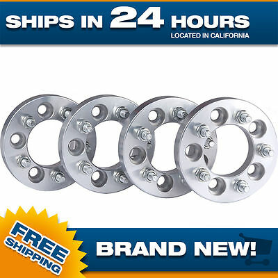 Wheel Spacers - Set of 4 - 5x4.5 - 12x1.5 - 1 inch