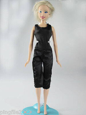 Fashion Hot!Handmade Daying Dress Clothes Outfits Barbie Doll #571