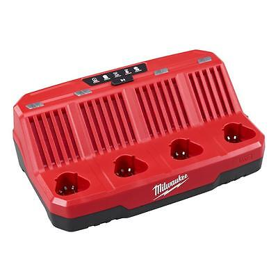 "MILWAUKEE M12â""¢ 4-Bay Sequential Charger"