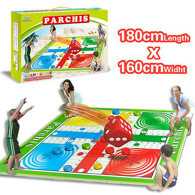 PARCHEESI TOUCH Baby Kid Family Outdoor Party Game Toy Crawl Play Mat Picnic Rug