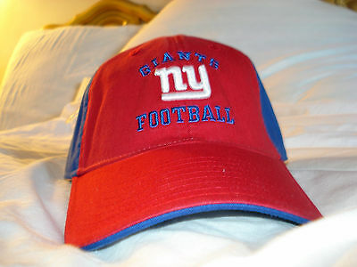 NEW YORK GIANTS HAT WITH LOGO NFL APPAREL BRAND NEW WITH TAG !!