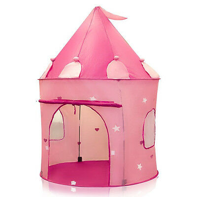 Play Tent Childs Pink Princess Castle Kid Play House Girl Fairy House New