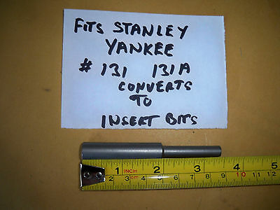 HEX BIT ADAPOR  TO YANKEE STYLE  - FOR STANLEY 31, 131, 68-131, 131A