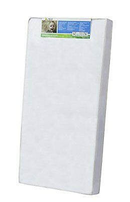 """Dream On Me 4"""" Full Size Foam Crib and Toddler Bed Mattress , New, Free Shipping"""
