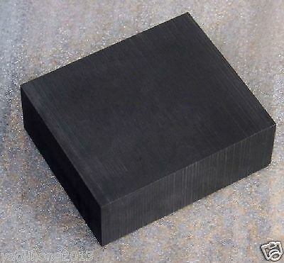 High Purity 99.9% Graphite Ingot Block Sheet 50mm * 50mm * 20mm