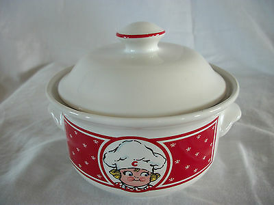 Vintage Campbell's Soup Bowl with Lid