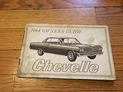 1964 CHEVELLE OWNERS GUIDE