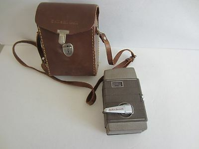 Vintage Bell & Howell 8mm Movie Camera Model 252 with original case video
