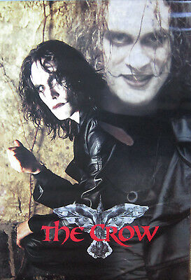 1996 The Crow Brandon Lee Movie Poster Crowvision OSP USA 2975 New Old Stock NOS