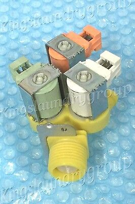 OEM Brand New 3 Way Water Valve 220V For  Wascomat  #823665