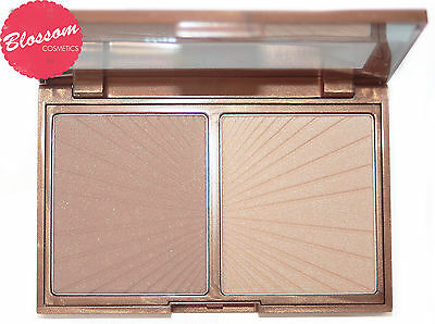 W7 HOLLYWOOD BRONZE & GLOW Highlighter Bronzing Powder Ultimate Contour Kit NEW!