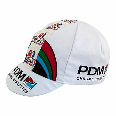 PDM RETRO CYCLING TEAM BIKE CAP - Vintage - Fixed Gear - Made in Italy