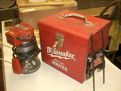 Milwaukee 5610 Router Made in USA w 49 54 0200 Guide