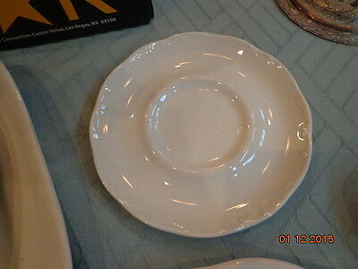 """J G Meakin Sterling Colonial English Ironstone 5-3/4"""" Saucer Plates 2 matching"""