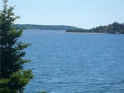 6 ACRE APPROVED OCEAN FRONT, WATER FRONT BUILDING LOT ON THE BRAS D'OR LAKES.