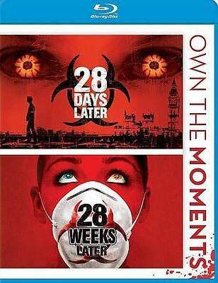 28 Days Later/28 Weeks Later (Blu-ray Disc, 2012) NEW Free Shipping